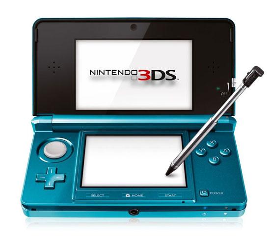 Nintendo 3ds console de jeu portable bleu vert draagbare spelcomputer bij fnac - Nintendo 3ds handheld console ...