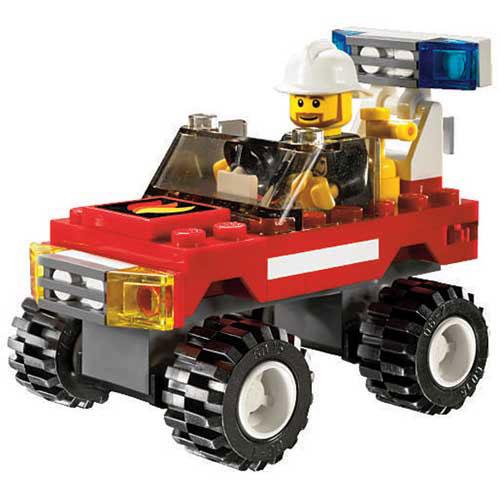 la voiture des pompiers de lego. Black Bedroom Furniture Sets. Home Design Ideas