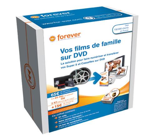 Coffret de numerisation films et K sur DVD a w