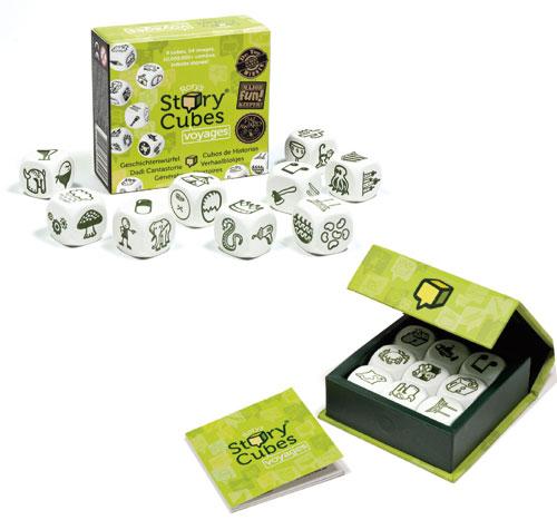 Fnac.com : Gigamic Story Cubes Voyages Vert - Jeux de voyage. Achat et vente de jouets, jeux de société, produits de puériculture. Découvrez les Univers Playmobil, Légo, FisherPrice, Vtech ainsi que les grandes marques de puériculture : Chicco, Bébé Confo