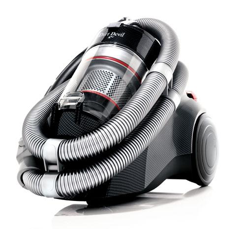 Dirt Devil - M 5038-1 - Inifinity VS8 Loop - Carbon/Rouge Métallic - Aspirateur sans sac- Aspirateur et Nettoyeur