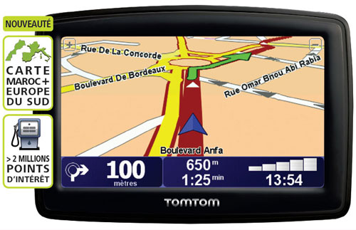 carte gps tomtom xl