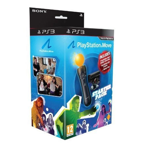 sony playstation move starter pack accessoire console de. Black Bedroom Furniture Sets. Home Design Ideas