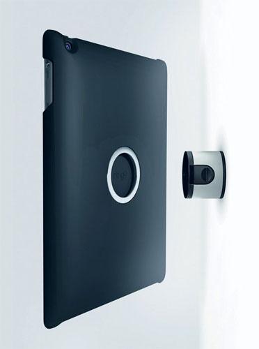 vogel 39 s support mural noir pour ipad mod le tms206. Black Bedroom Furniture Sets. Home Design Ideas
