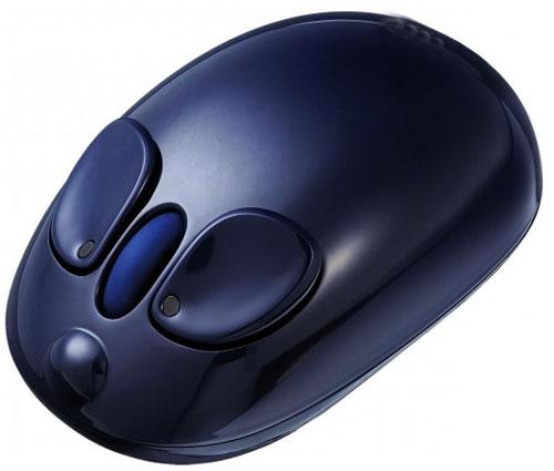 Souris sans fil laser, compatible PC et Mac Connexion sur port USB