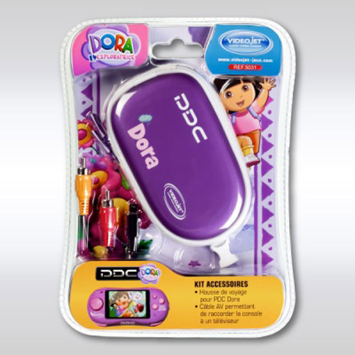 Kit accessoires Dora comprenant housse de voyage et câble TV compatible avec la PDC Dora.