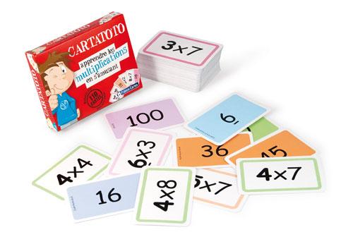 Fnac.com : Cartatoto Apprendre les multiplications en s´amusant - Chiffres et calcul. Achat et vente de jouets, jeux de société, produits de puériculture. Découvrez les Univers Playmobil, Légo, FisherPrice, Vtech ainsi que les grandes marques de puéricult