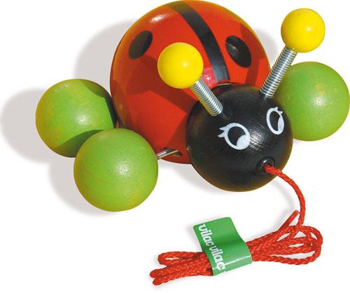Fnac.com : Vilac Baby Lady Bug La Coccinelle - Jouets à tirer ou à pousser. Achat et vente de jouets, jeux de société, produits de puériculture. Découvrez les Univers Playmobil, Légo, FisherPrice, Vtech ainsi que les grandes marques de puériculture : Chic