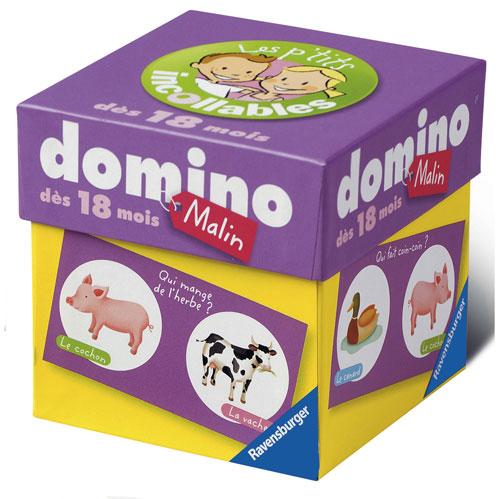 Un petit domino malin aux couleurs vives avec de superbes illustrations pour le plaisir des enfants.