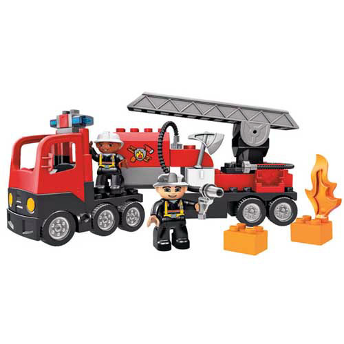 lego 4977 le camion des pompiers lego. Black Bedroom Furniture Sets. Home Design Ideas