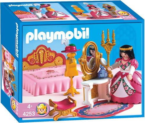 playmobil 4253 princessechambre zoom - Playmobil Chambres Princesses
