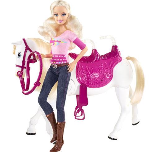 Mattel Barbie Barbie Cheval Trotteur pour 2 pour 279€
