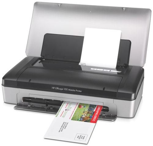 hp officejet 100 mobile printer imprimante couleur jet d 39 encre imprimante jet d encre. Black Bedroom Furniture Sets. Home Design Ideas