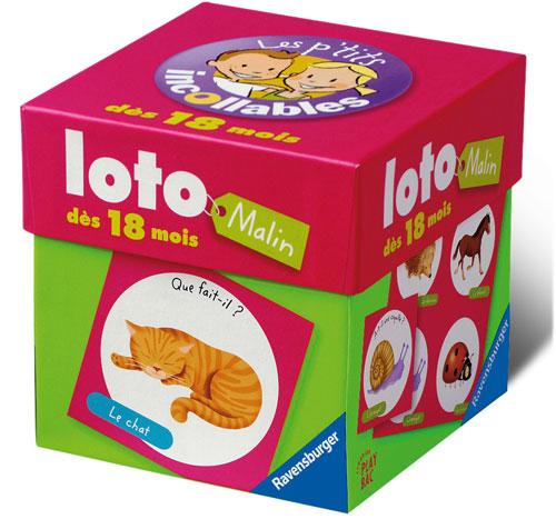 Un petit loto malin aux couleurs vives avec de superbes illustrations pour le plaisir des enfants.