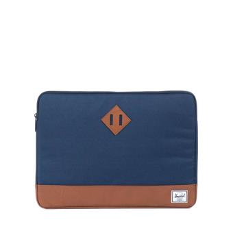 Housse herschel heritage sleeve pour macbook air 13 navy for Housse macbook air 13