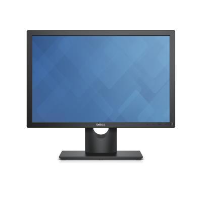 """DELL E Series E2016 19 5"""" Black HD-ready Matt"""