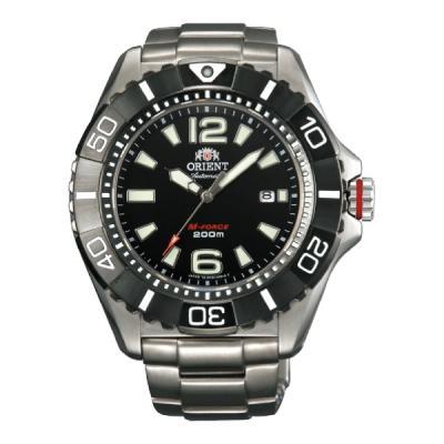 Reloj Orient Automatico M-Force Titanium SDV01001B0