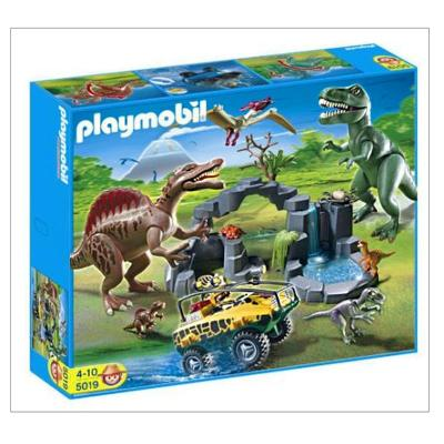 Playmobil 5019 set de dinosaurios con veh culo anfibio en for Playmobil dinosaurios