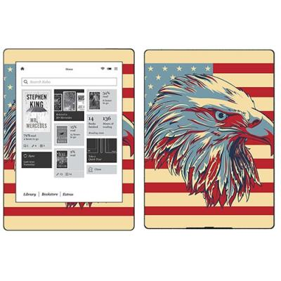 Skin Stickers Para Kobo Aura H2o (sticker : Patriotic)