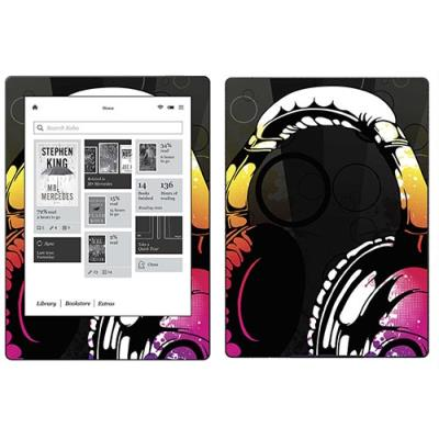 Skin Stickers Para Kobo Aura H2o (sticker : Headphones)