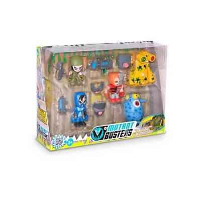 Mutant busters set batalla 5 figuras