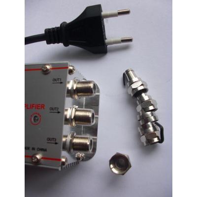 Amplificador de se al tv tdt con 3 salidas spliter - Amplificador senal tdt ...