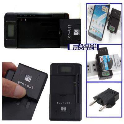 Cargador baterias LCD 3-1 para BlackBerry 9380 Universal