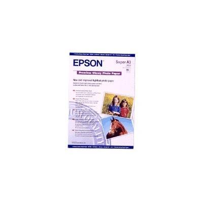 Papel fotográfico Epson A3+ Premium Glossy Photo Paper