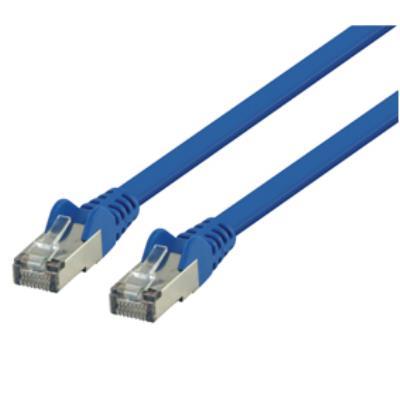 Valueline Cable de red Plano Color Azul 2.00 m ftp Cat6