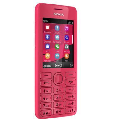 Nokia 206 DualSIM fuchsia libre