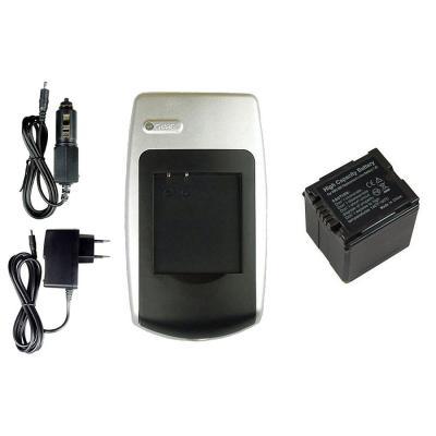 Batería + Cargador VBG260 para Panasonic HDC-DX1, DX1EG-S, DX1GK, DX1-S, DX3