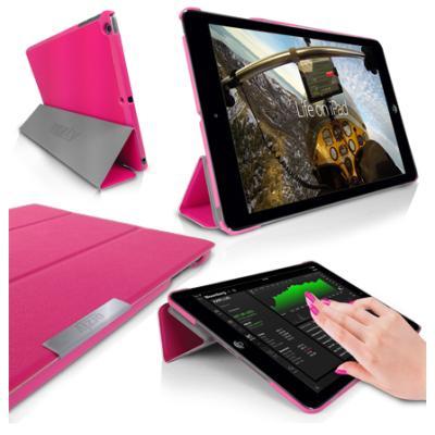 Orzly - Funda para iPad - Slim Rim Case - iPad Air - Rosada