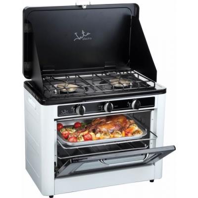 Horno cocina a gas port til doble jata hcg800 en for Cocina de gas portatil