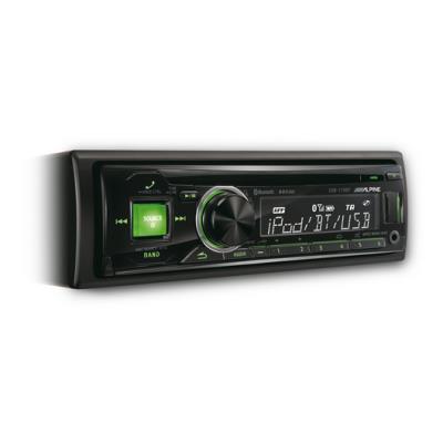 Alpine Cde-173bt Radio CD con Bluetooth