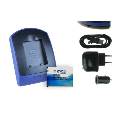 Baterìa + Cargador (USB/Coche/Corriente) NP-45 para Fujifilm Finepix T200, T205, T300, T305