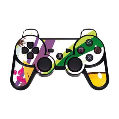 Skin Stickers Para Sony PS3 Controller (Sticker : Summer Floral)