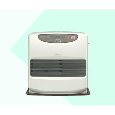 Calefactor de parafina portátil 428W Blanco/chocolate SRE 9046C2
