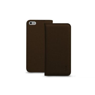 SBS Bookstyle case para iPhone 5C ebony