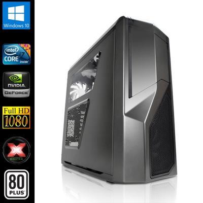 Gaming PC Ultimate (Intel i7-4790 4x3 6Ghz, Geforce GTX980 4096Mb, 32Gb RAM, 3000Gb HDD, 500Gb SSD, USB 3.0, Full HD 1080p, Alim 80+, Win 10)