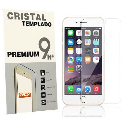 """Protector de Pantalla para iPhone 6 Plus 6S Plus 5.5"""" Cristal Vidrio Templado Premium, Electrónica Rey®"""