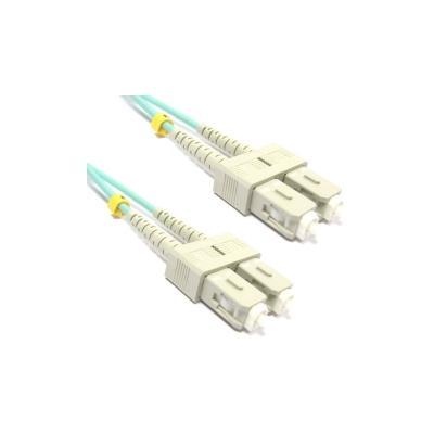 Cable om3 de Fibra Óptica sc a sc Multimodo Duplex 50/125 de 50cm