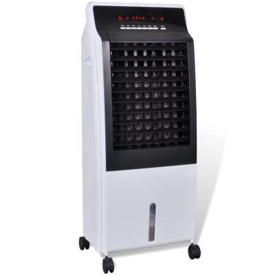 Aparato de aire acondicionado portátil vidaXL con purificador, 8 L, 65W, Blanco