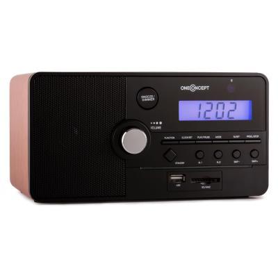 Radio reloj de carga de memoria USB