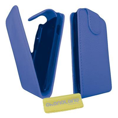 Funda de Piel para Samsung Galaxy Note 3 Neo Color Azul