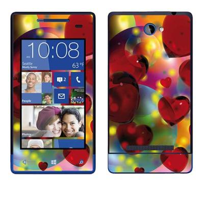 Skin Stickers Para htc Windows Phone 8s (Sticker : Amour Rouge)