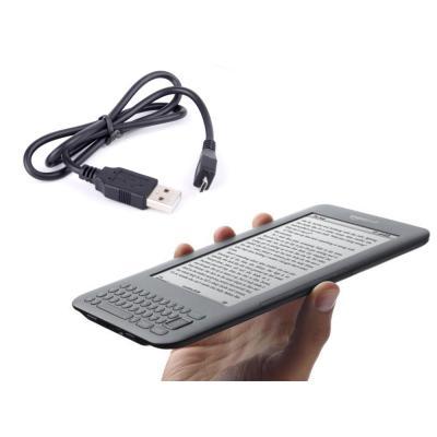 Cable De Sincronización Sirve Con Todos Modelos De Kindle Incluyendo Kindle / Kindle Paperwhite / Kindle Touch / Kindle Fire / Kindle Fire HD Por DURA