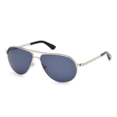 Tom Ford FT0144 (MARKO) - 18V (rodio lucido/blu) - Gafas de sol