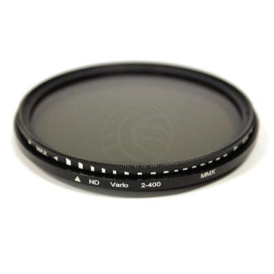 Filtro fotografía ND2 a ND400 variable para objetivo de 58mm