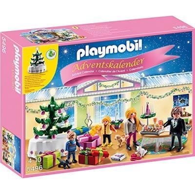 Playmobil Sala de Navidad Adviento Calendario 5496