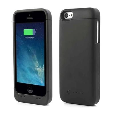 Funda con bater a externa para iphone 5 5s 5c negro en comprar inform tica en - Funda bateria iphone 5c ...